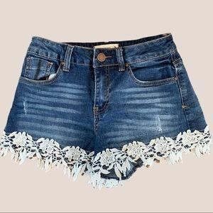 2/$18 Urban Heritage / High Rise / Denim Shorts